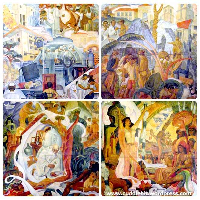 Botong Francisco's Progress of Medicine in the Philippines | Image by Pammy
